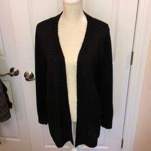 Black Mudd sweater/cardigan with detail size XL